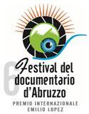 Logo sesta edizione Festival del documentario d'Abruzzo