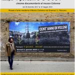 Manifesto film cent'anni di veleni di Walter Nanni Pescara 11 gennaio 2017