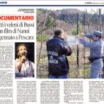 articolo del quotidiano Il Centro - 3 gennaio 2018