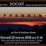 Banner presentazione proiezione film APPENNINO di Emiliano Dante