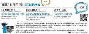 Banner Laicità CINEMA 2018