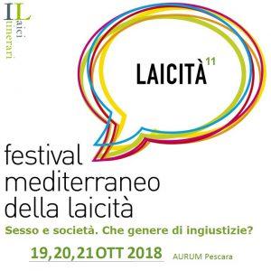 logo edizione 2018 del Festival mediterraneo della laicità