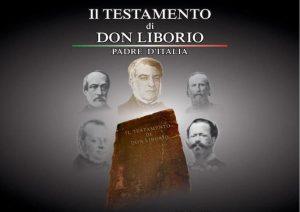 """Immagine per News sito web per la presentazione del libro """"il testamento di Don Liborio"""" 20 dicembre 2018 Pescara"""