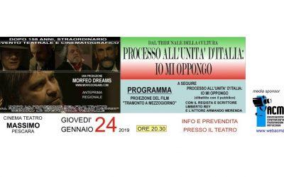 """anteprima regionale del film """"Tramonto a mezzogiorno"""""""