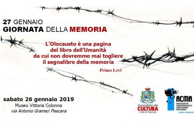 Pescara Giornata della Memoria 2019