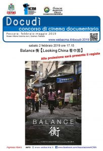 Manifesto Balance-Looking China di Roberto Montebello