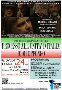 Manifesto film Tramonto a Mezzoggiorno Pescara