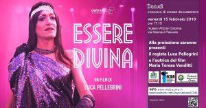 "Docudì 2019 Banner ""Essere Divina"""