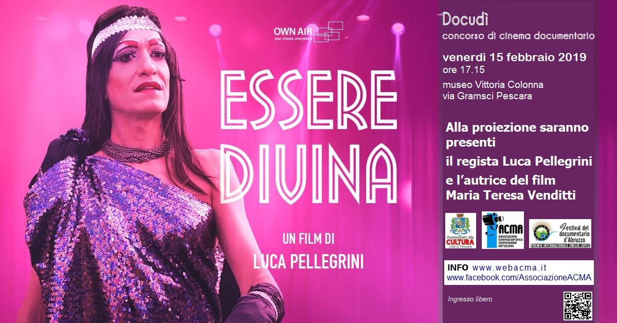 Hashtag docudìconcorsocinemadocumentario su Camperfree Banner_Essere-Diva