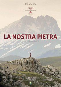 """Manifesto film """"La nostra pietra"""" di Alessandro Soetje"""