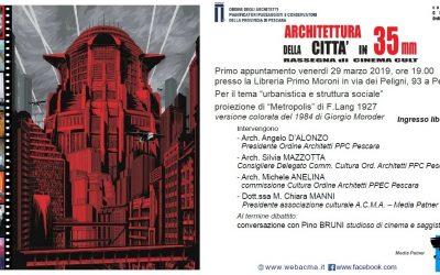Proiezione di Metropolis di Fritz Lang