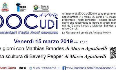 DOCudì d'Arte 1 Marco Agostinelli