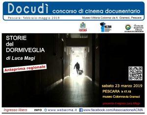 """banner 2 film """"Storie del Dormiveglia"""""""