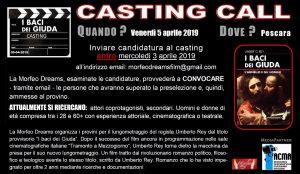 """casting """"I baci dei giuda"""""""