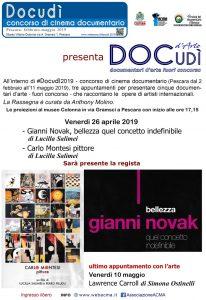 Locandina DOCudì d'Arte 2