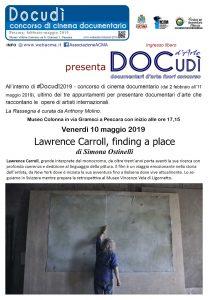 "Manifesto ""Lawrence Carroll"" di Simona Ostinelli"