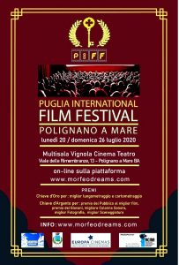 Manifesto PiFF - Puglia international Film Festival